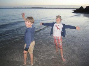 My Sons Having Lots of Fun!